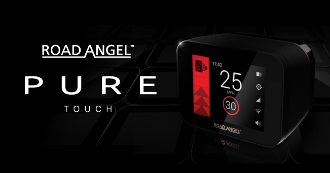 The Pure Touch - Road Angel unveils next generation in safety and speed awareness