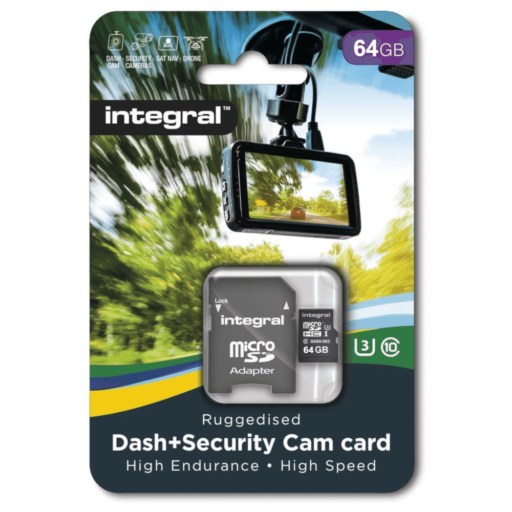 Halo Dashcam Micro SD Card 64GB