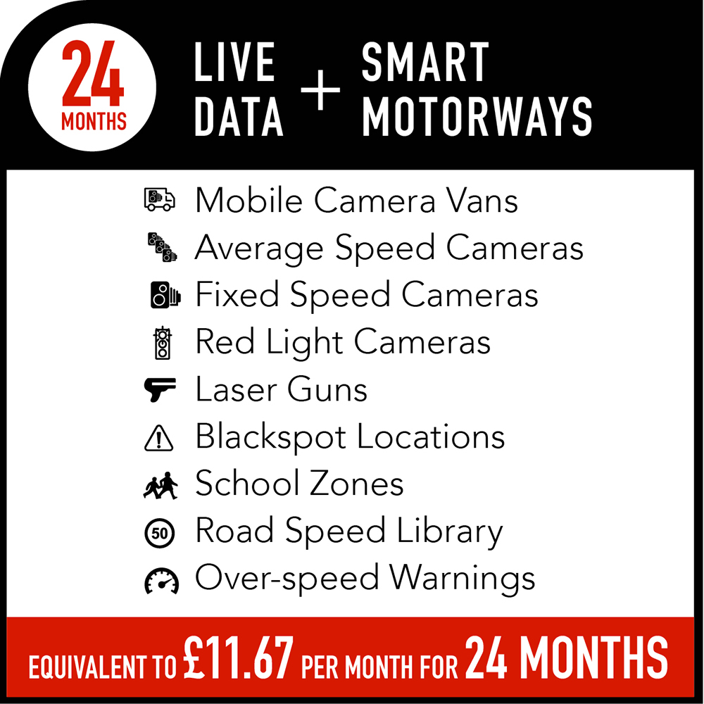 Live Data + Smart Motorways Subscription - 24 months