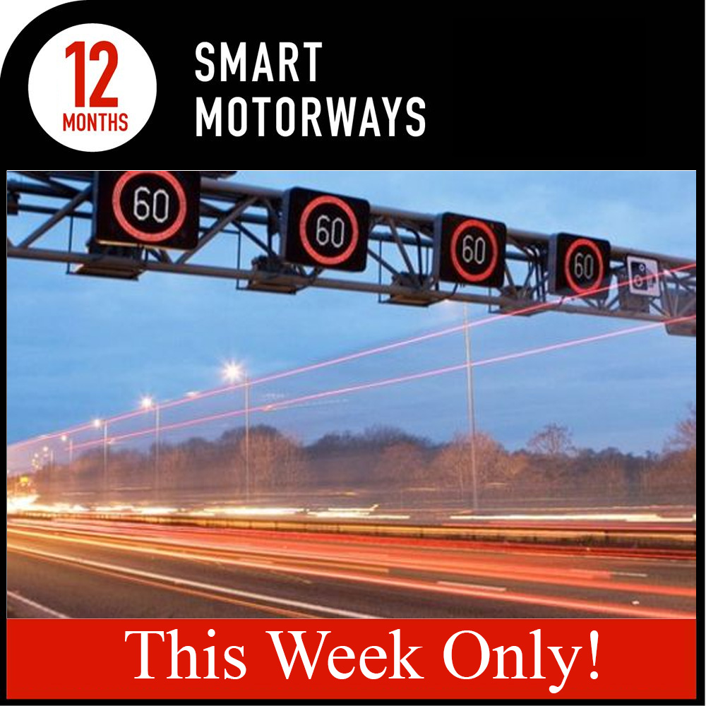 Pure Smart Motorways Subscription - 12 months