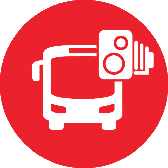 Bus Lane Cameras Icon